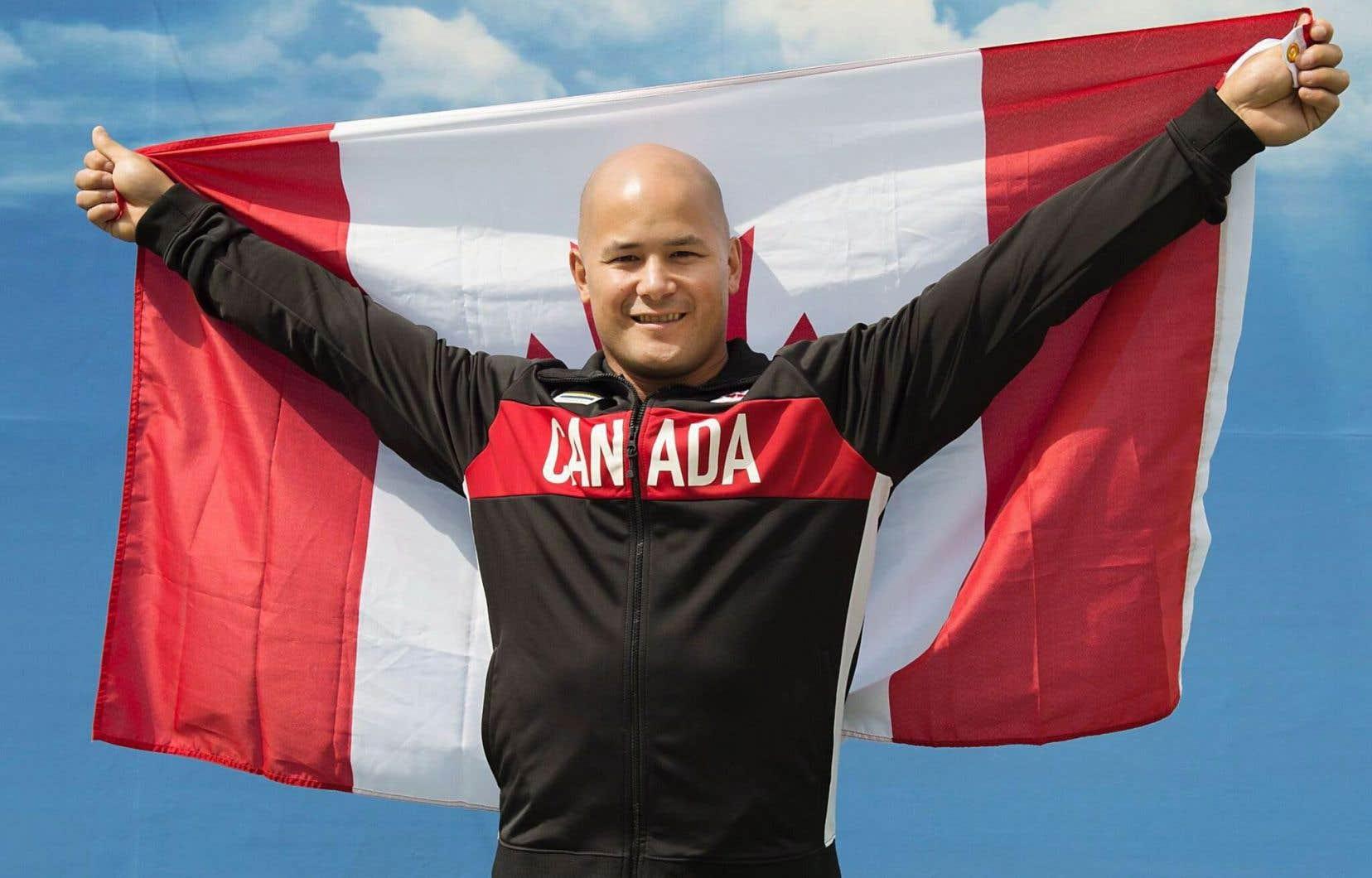 David Eng portera le drapeau du Canada lors de la cérémonie d'ouverture des Jeux paralympiques.