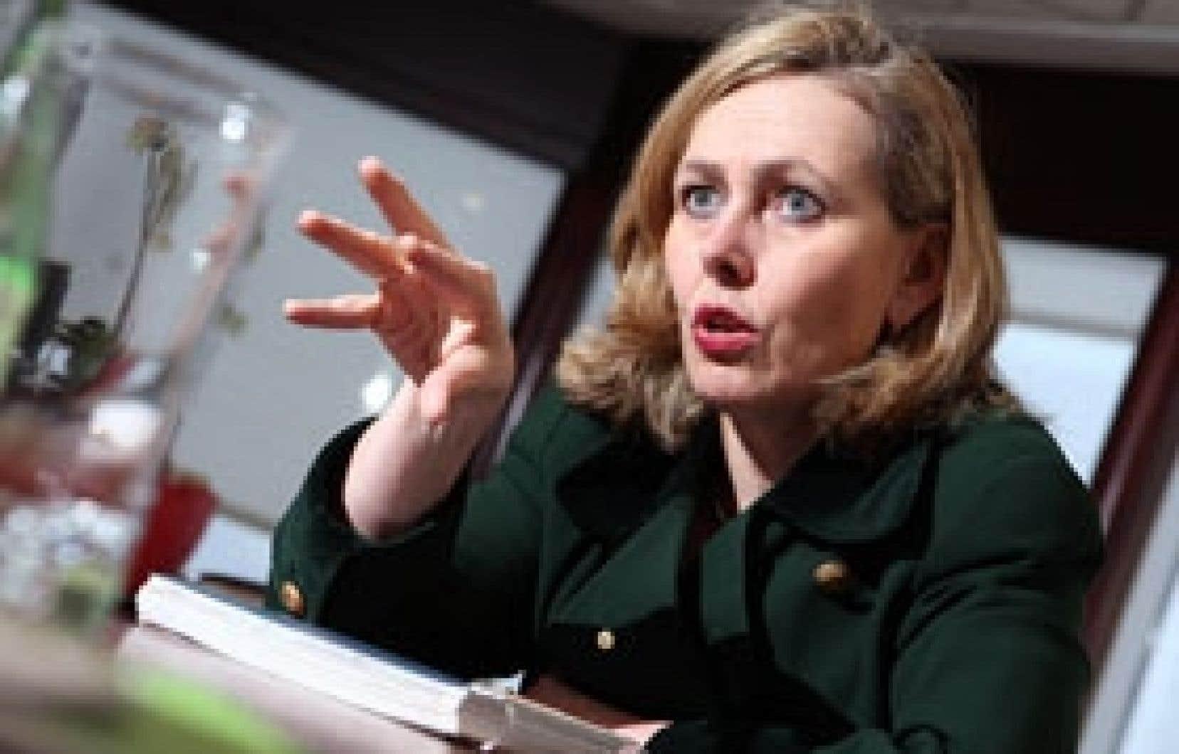 Présidente et chef de la direction, Monique Leroux a connu une première année «plutôt mouvementée» à la tête du Mouvement Desjardins.