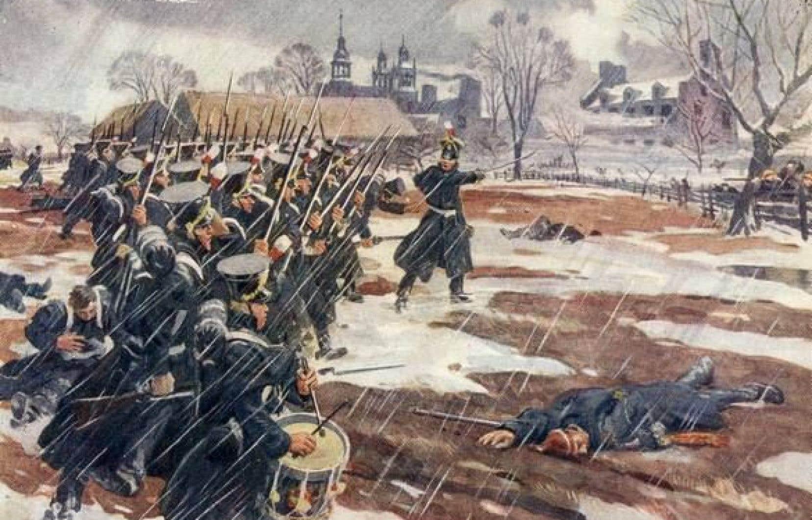 François Nicolas a participé à la bataille de Saint-Denis, le 23 novembre 1837.