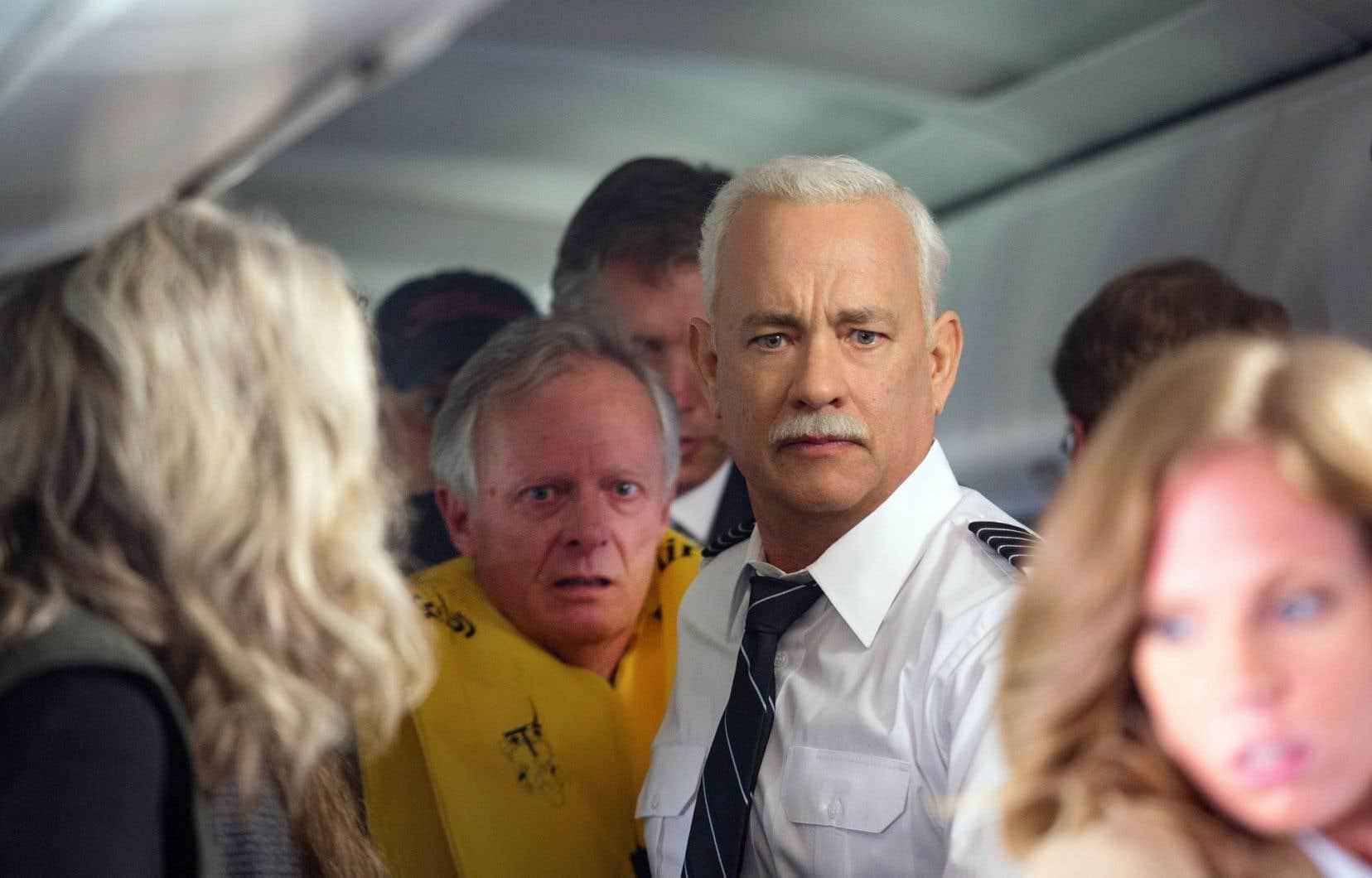 Sully (Tom Hanks) au centre de l'action du film de Clint Eastwood