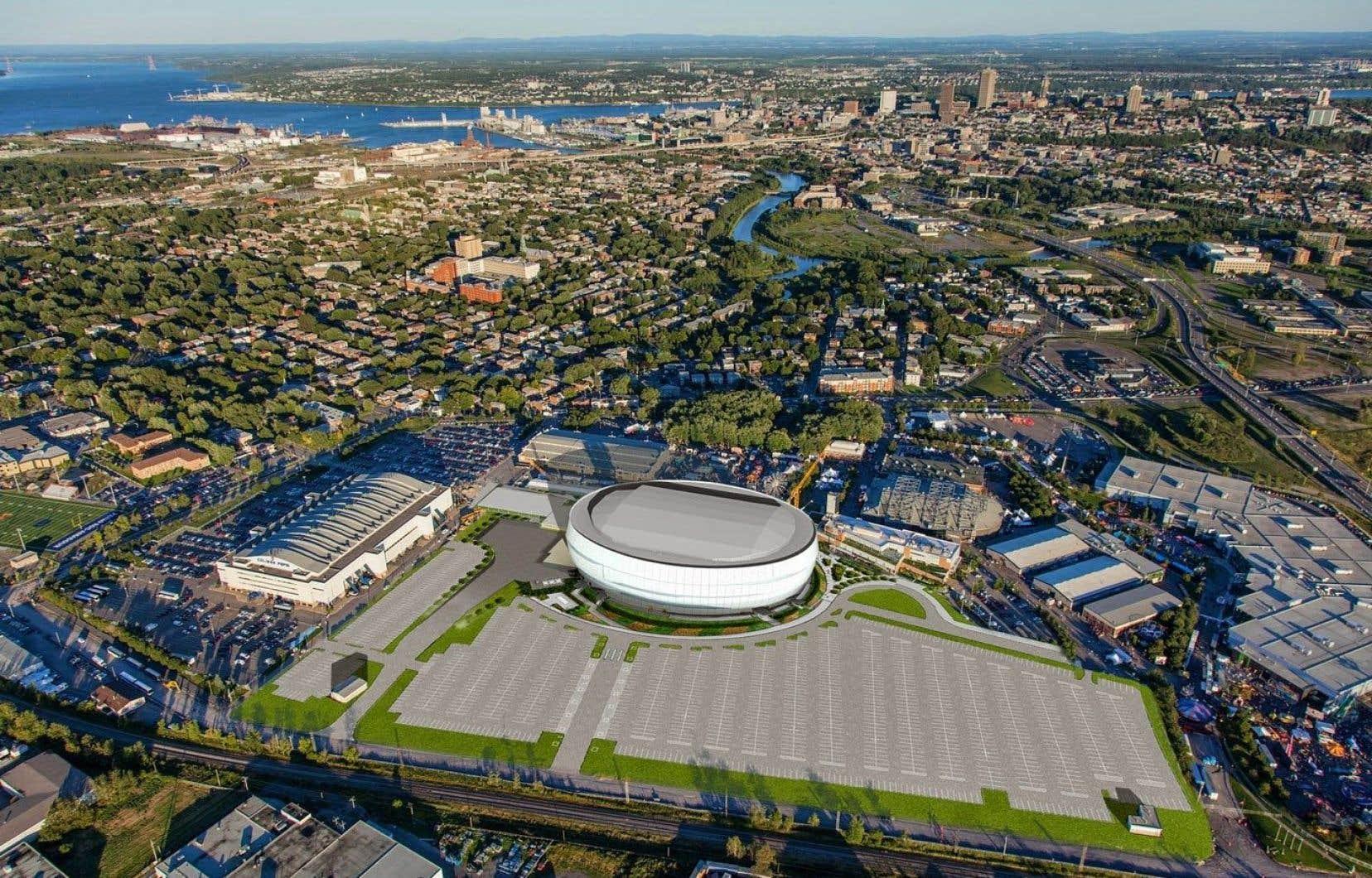 En plus des 93 soirs de spectacles et de parties de hockey des Remparts, l'amphithéâtre a reçu 30 événements corporatifs pendant l'année.