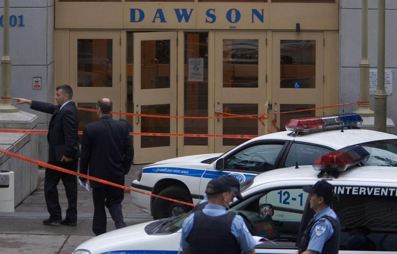 La fusillade du 13 septembre 2006 a créé une onde de choc qui a poussé les écoles du Québec à revoir leurs mesures de sécurité.