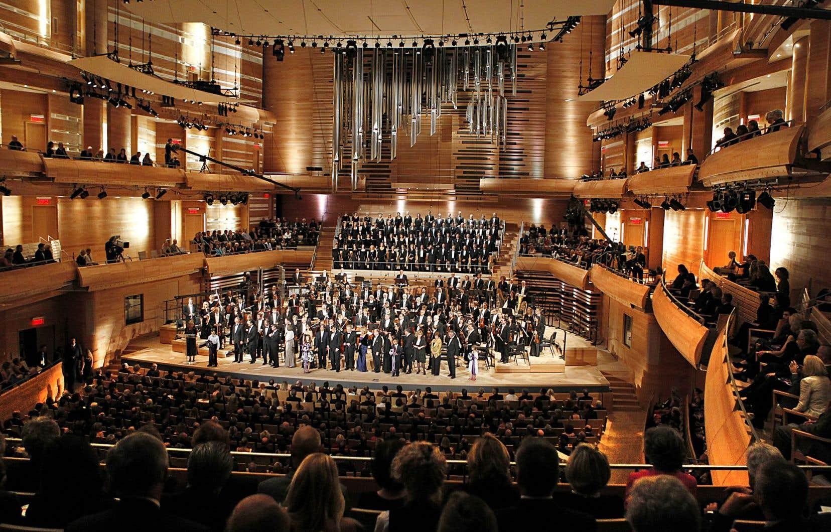 Inaugurée le 7septembre 2011, la Maison symphonique a permis d'améliorer l'expérience musicale des spectateurs, tout comme celle des musiciens.