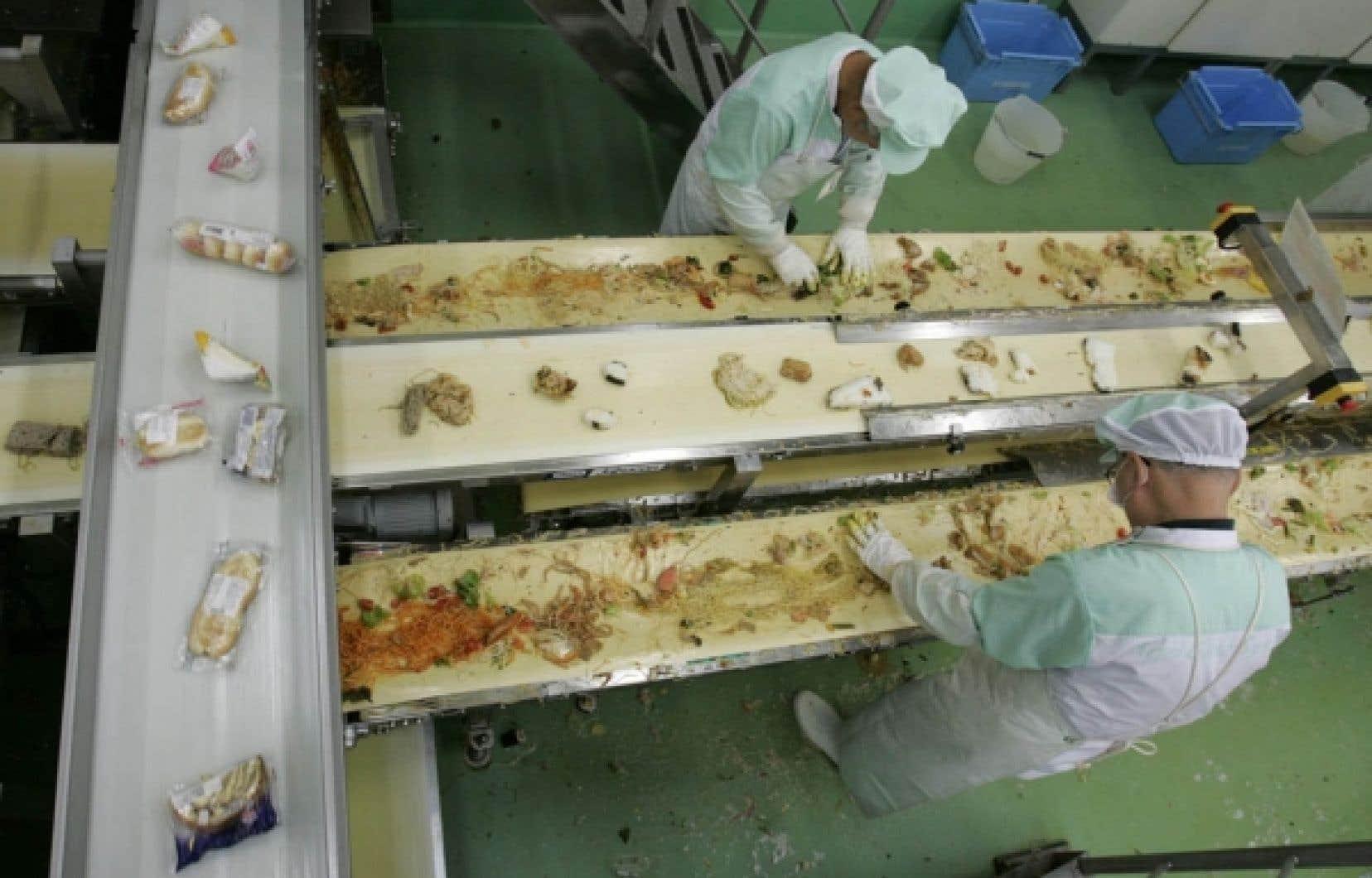 Un exemple d'usine de recyclage de déchets organiques au Japon