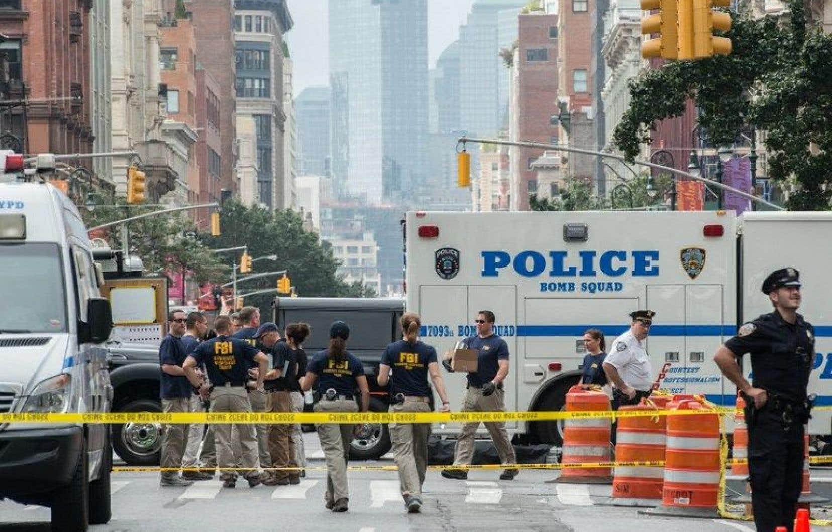 New York a été secouée samedi soir par l'explosion d'un engin dans le quartier animé de Chelsea.