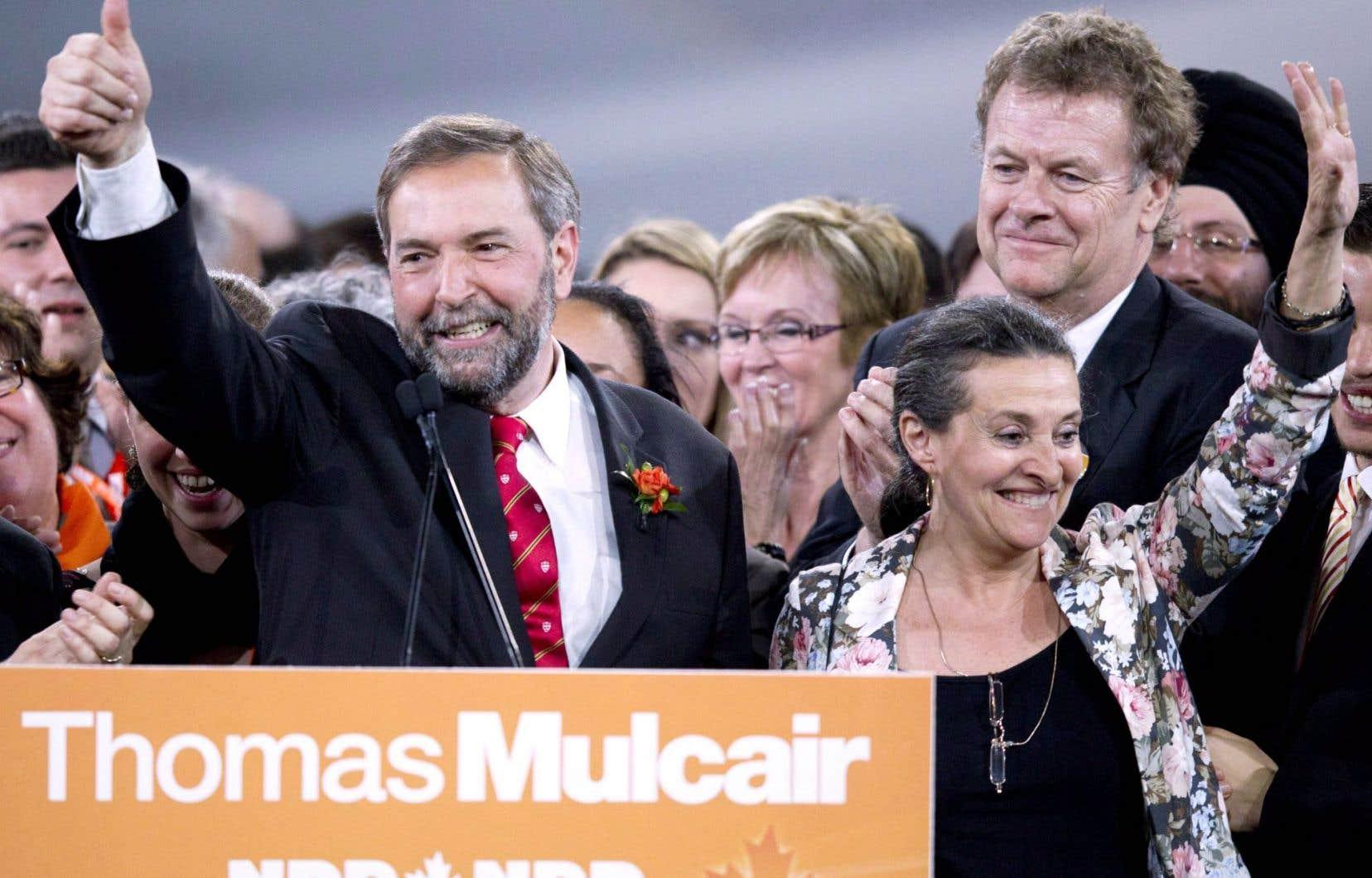 Mars 2012. Thomas Mulcair est élu à la tête du NPD lors de la convention du parti qui se déroulait à Toronto. Quelques mois après son élection, le parti recensait 14 300 membres québécois.