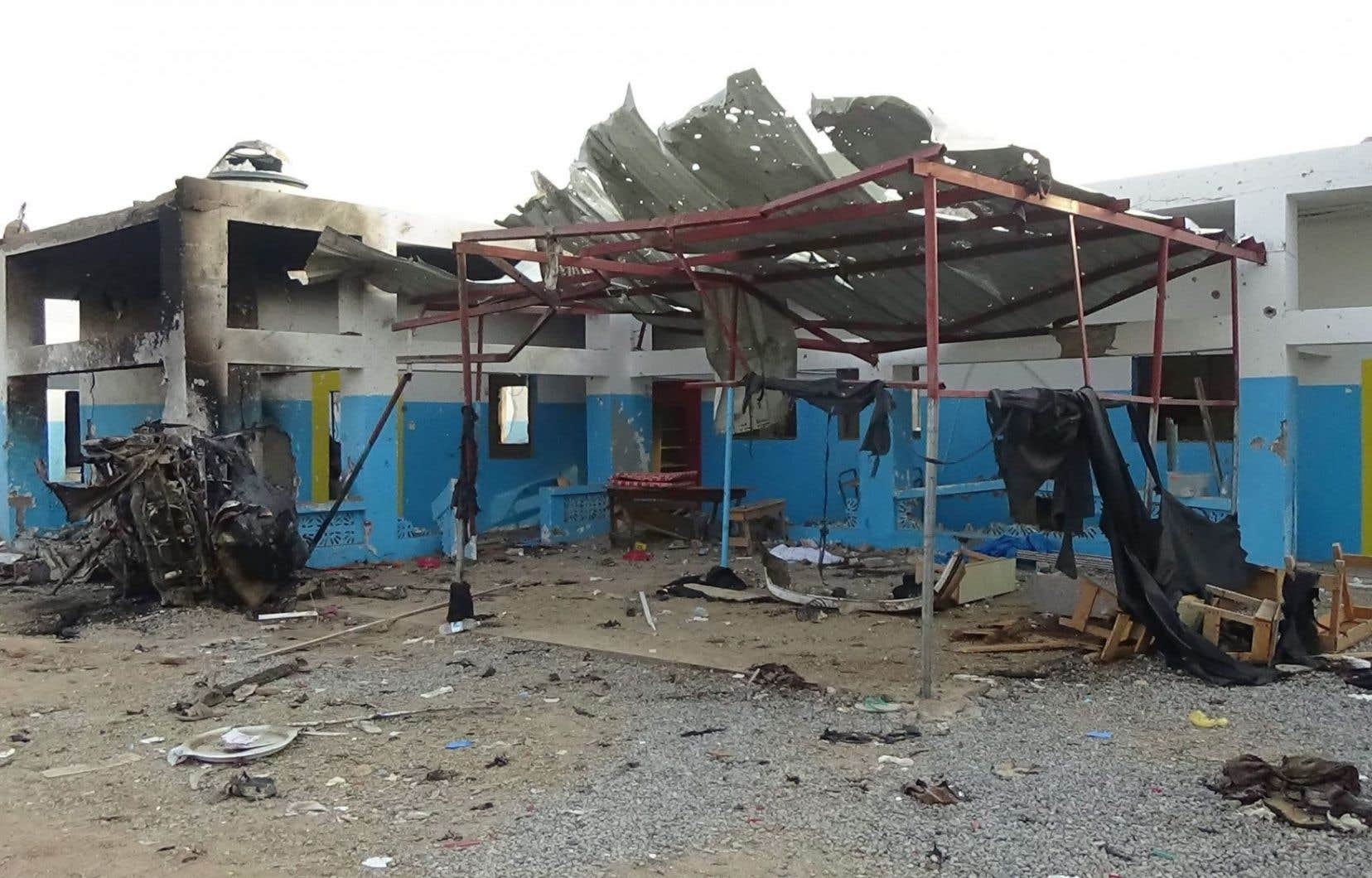 Le raid contre l'hôpital d'Abs (nord du Yémen) avait fait 19 morts et 24 blessés, selon Médecins sans frontières.