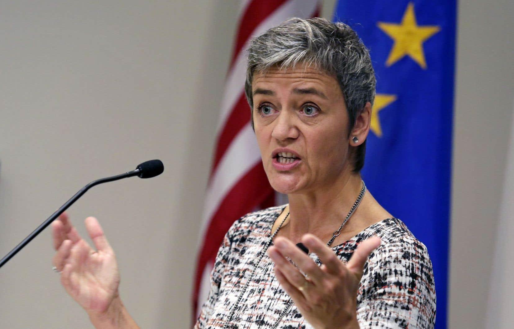 La commissaire européenne à la Concurrence, Margrethe Vestager