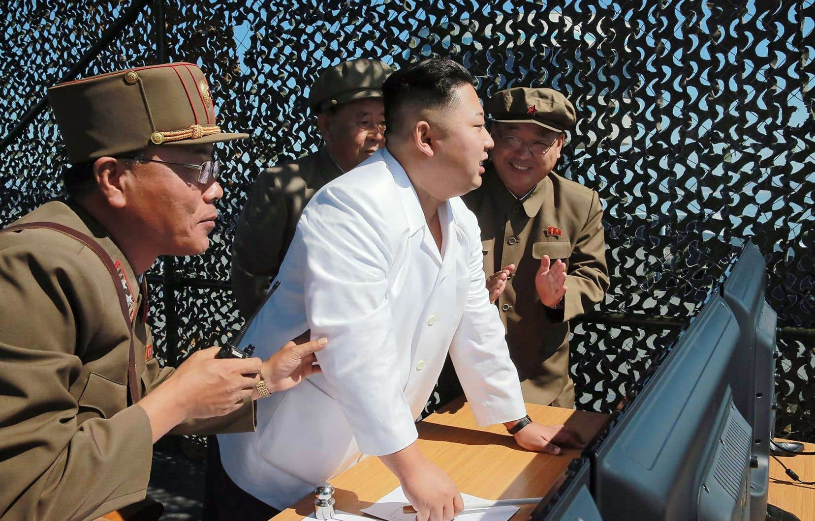 Kim Jong-un a supervisé le test à la base de lancement de satellites de Sohae, dans l'ouest du pays.