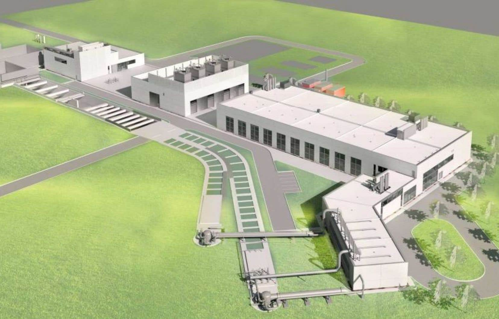 Selon la responsable du dossier de l'eau au comité exécutif, Chantal Rouleau, il s'agira de la plus grande usine d'ozonation des eaux usées au monde.