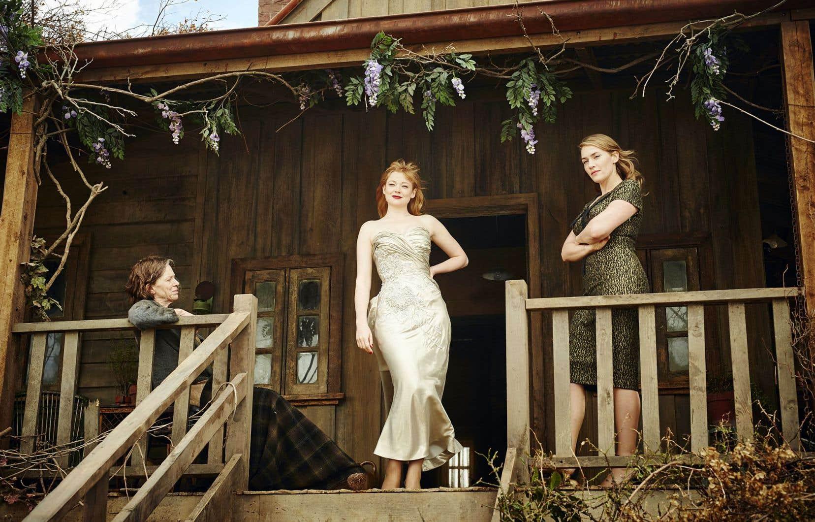 Judy Davis, Sarah Snook et Kate Winslet dans «The Dressmaker»