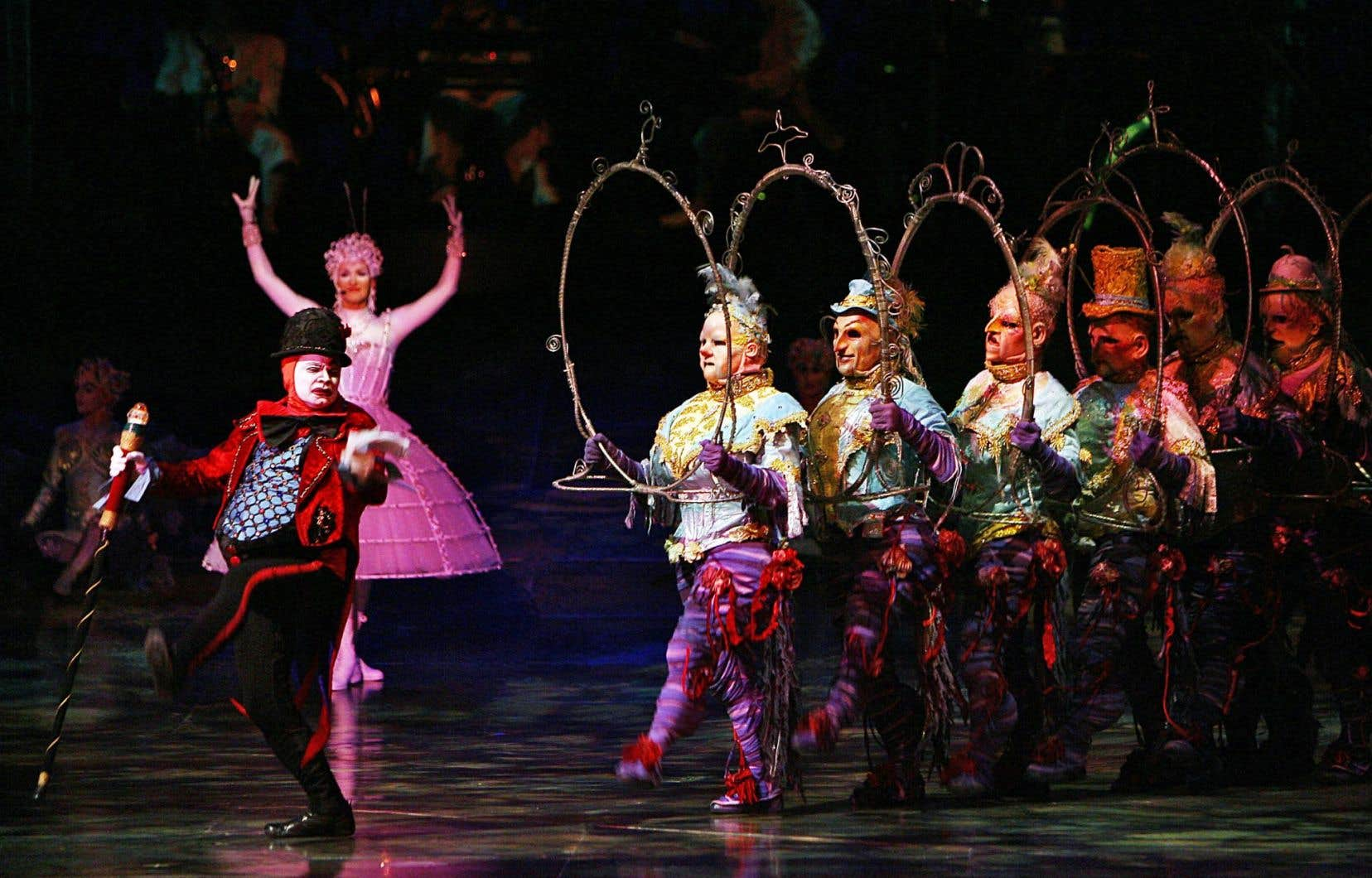 Une scène d'«Alegria», un des spectacles qui portent la signature, entre autres, de Gilles Ste-Croix