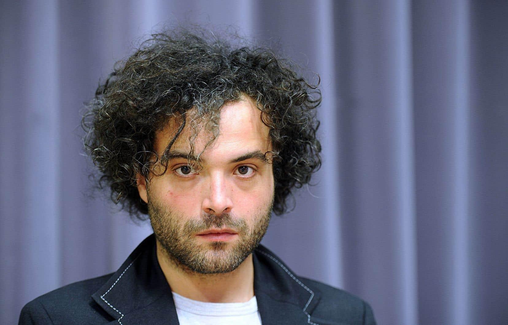 Le Français David Babin, alias Babx