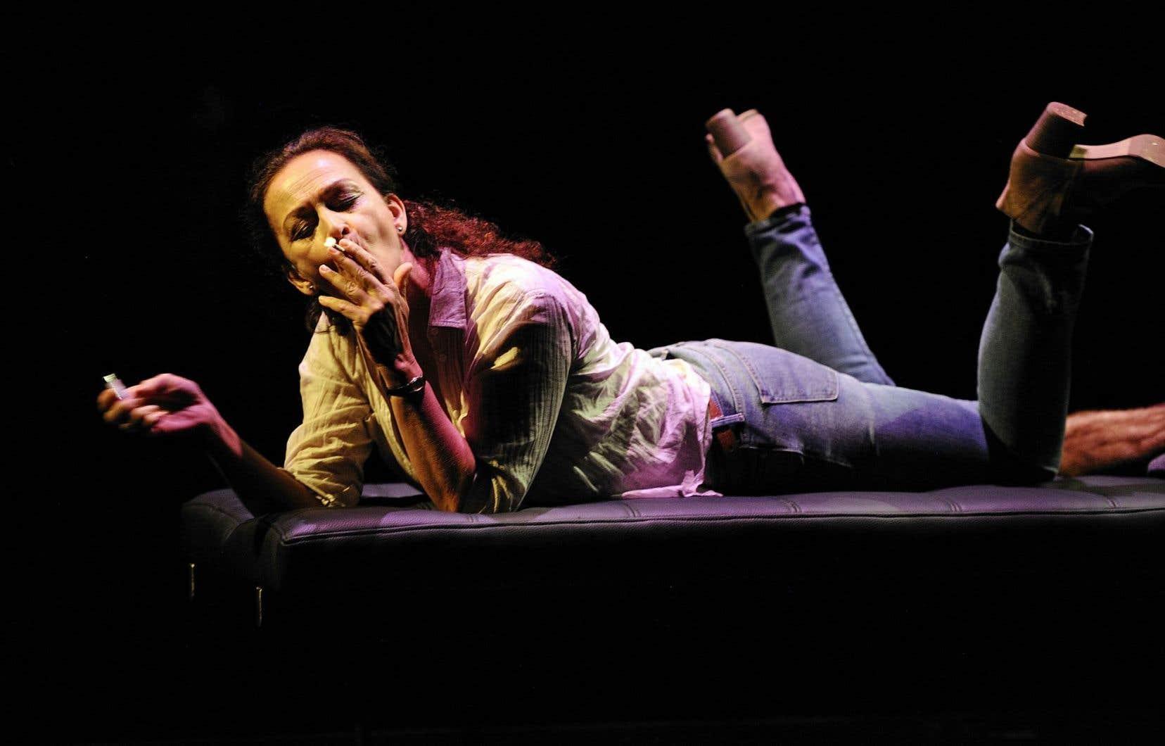 Sylvie Drapeau dans «La délivrance»