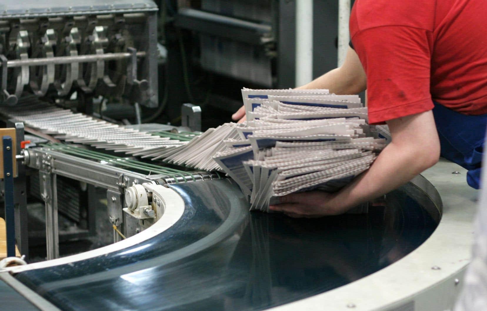 La coalition demande notamment au gouvernement du Québec de «mettre rapidement sur pied un programme d'aide financière temporaire de cinq ans pour les journaux».