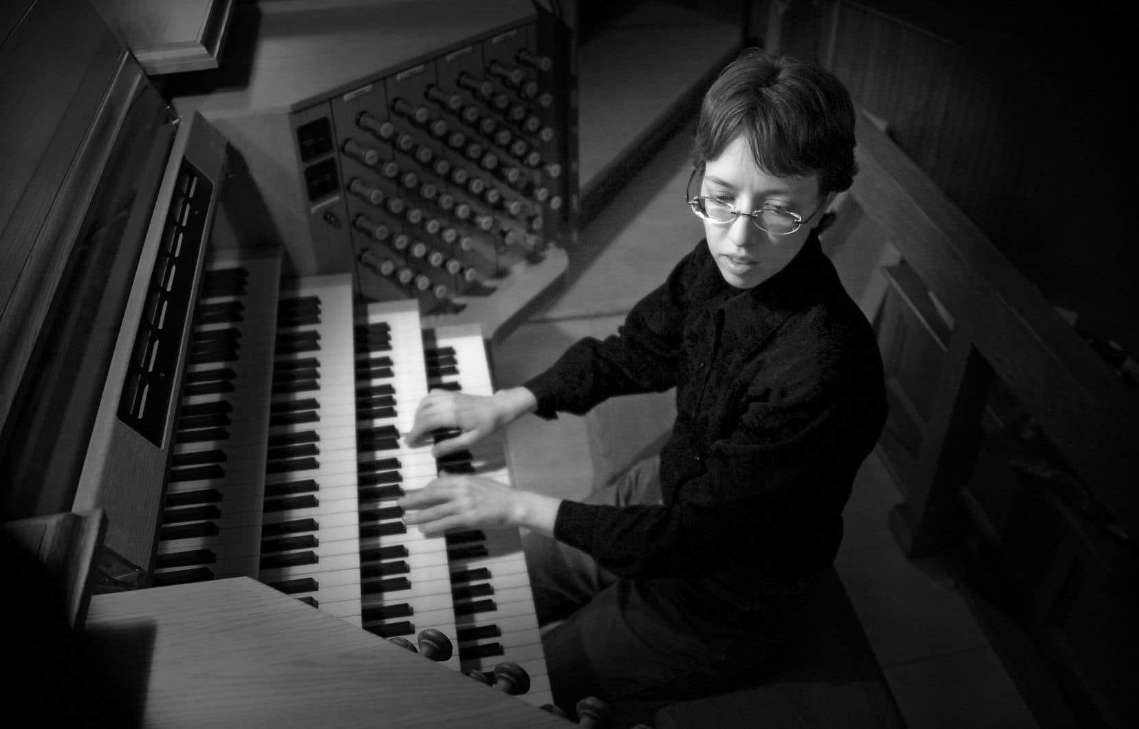 Isabelle Demers, qu'on pourra entendreà la basilique Notre-Dame de Montréal le 14 octobre.