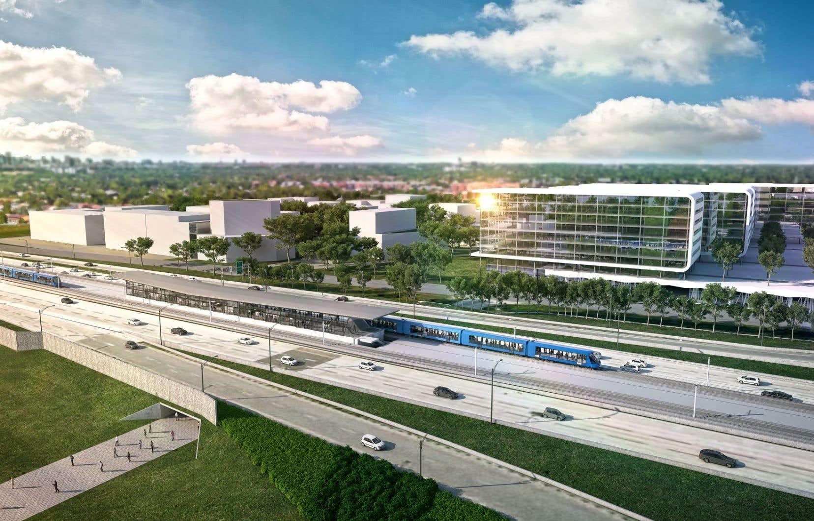 Loin des pôles d'habitation et de service actuels, certaines des nouvelles stations ne seront accessibles que par un service de rabattement ou, encore, en voiture.