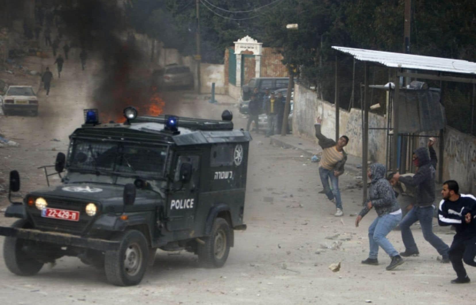 Il y a des manifestations chaque semaine dans le camp de Shoafat depuis des mois.