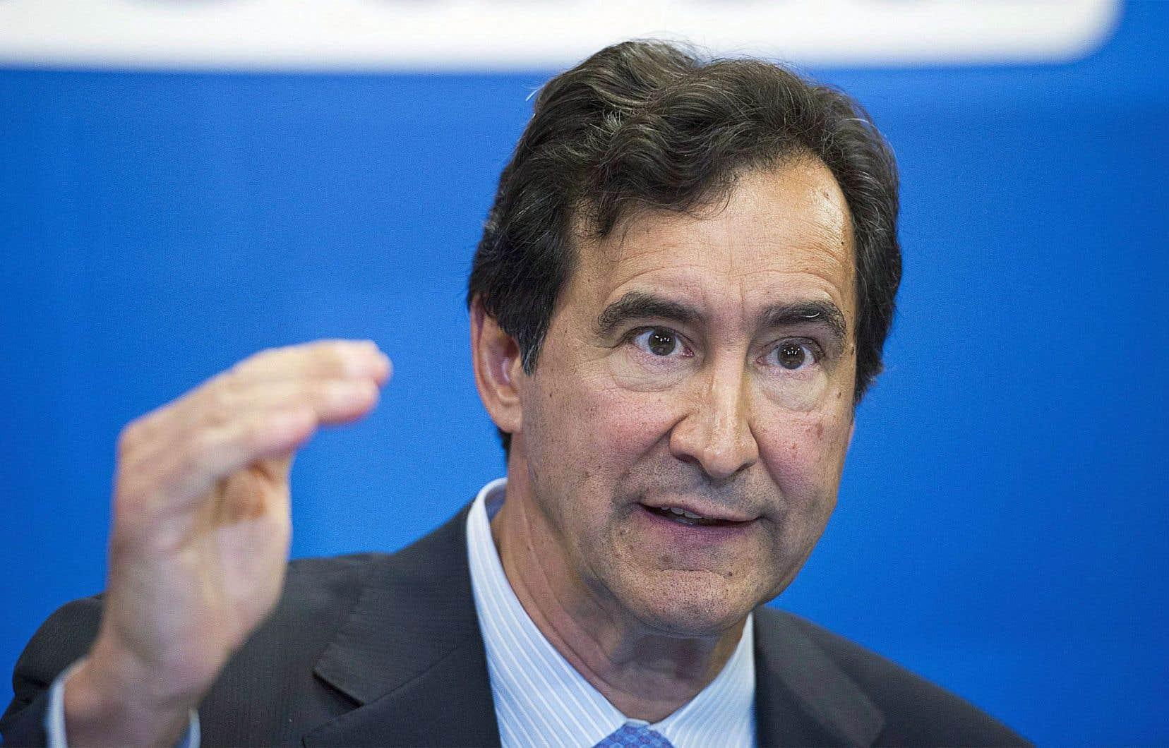 Les interventions du gouvernement libéral déstabilisent l'industrie de la pharmacie, dit François Coutu, président et chef de la direction du Groupe Jean Coutu.
