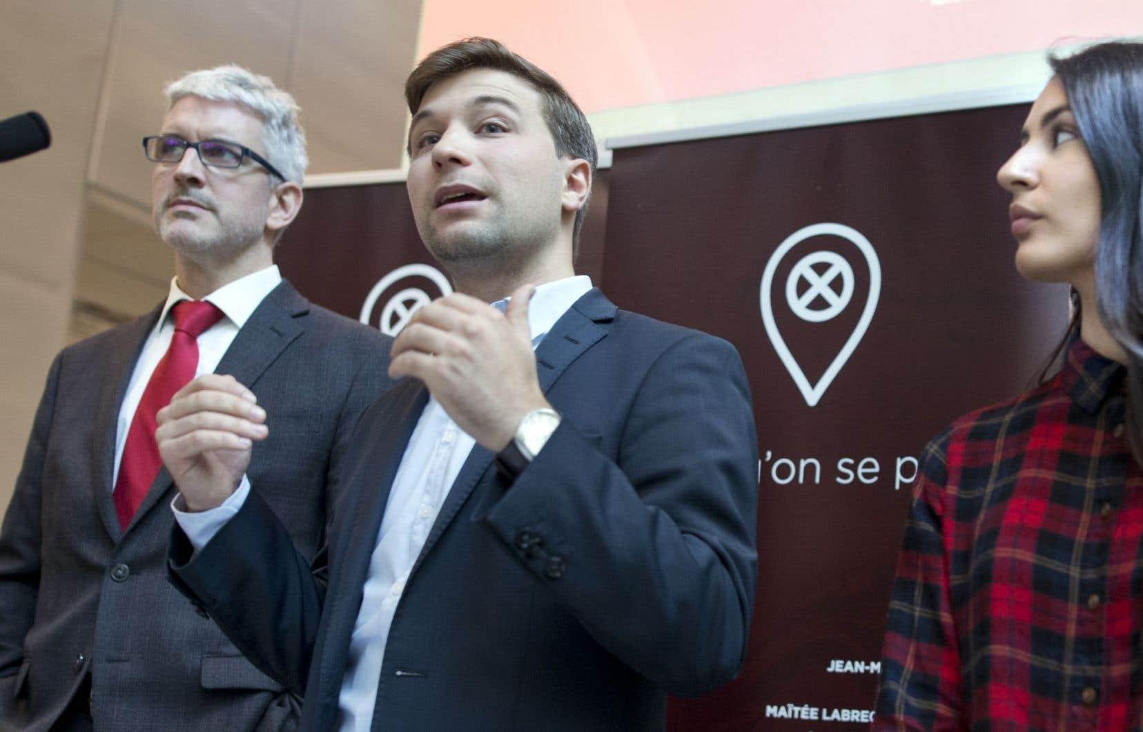 «L'avenir du français, langue commune, constitue indubitablement l'une des plus grandes préoccupations des Québécoises et Québécois en 2016», écrivent les auteurs.