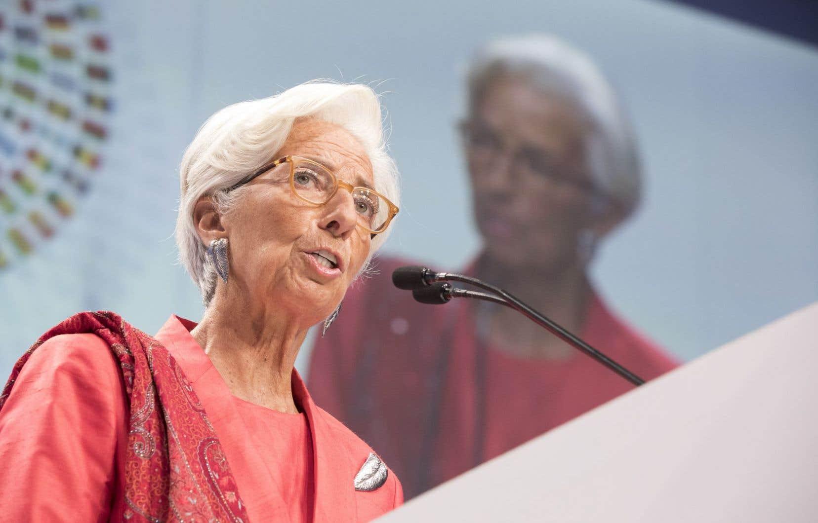 La patronne du FMI, Christine Lagarde