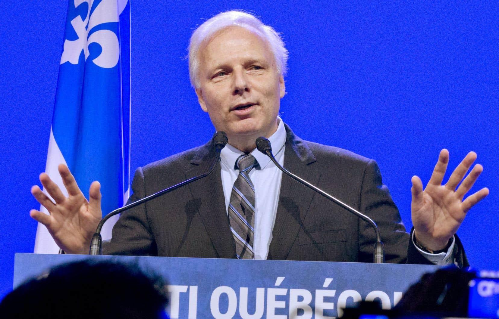 Le chef du Parti québécoois, Jean-François Lisée