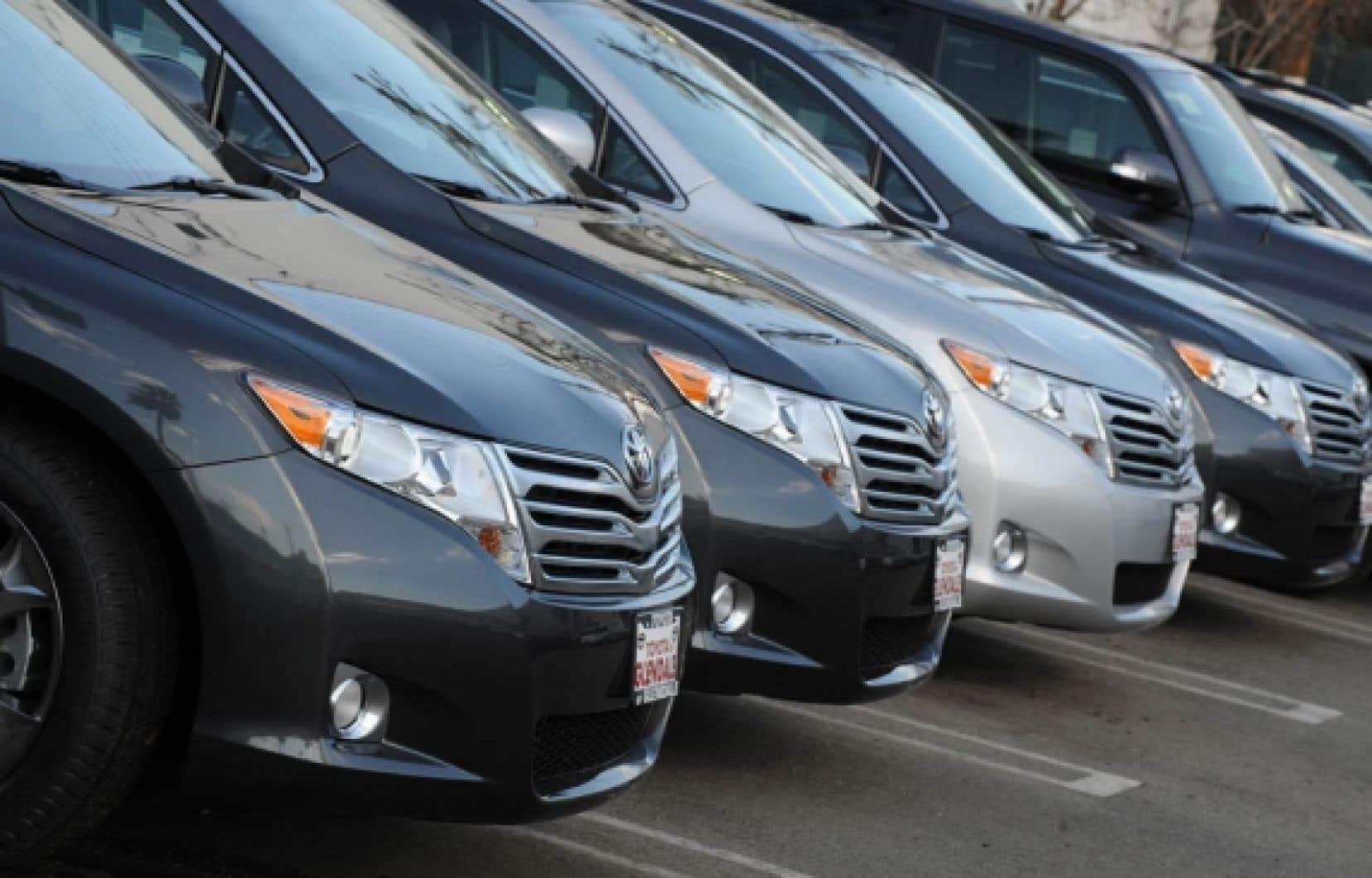 Au États-Unis, le prix des Toyota d'occasion aurait chuté de 3,5 % et pourrait plonger jusqu'à 6 %.