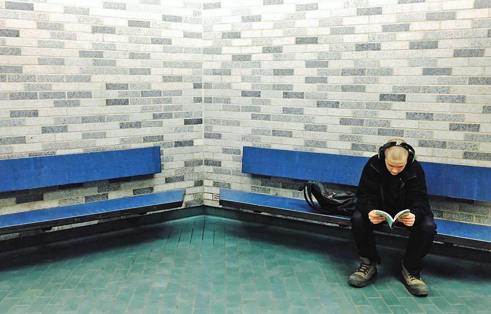 Le métro est le théâtre du quotidien de nombreux Montréalais.