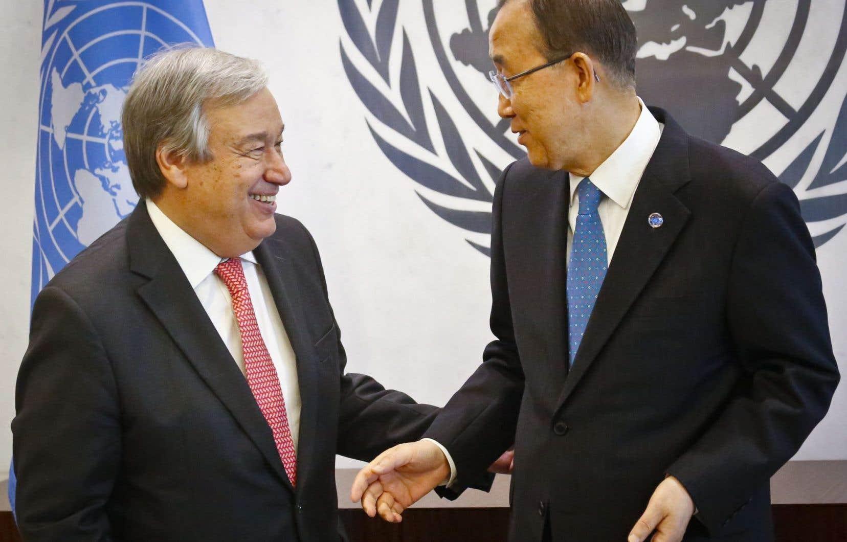 M. Guterres, 67 ans, homme râblé et polyglote, s'est dit «pleinement conscient des défis» du poste.