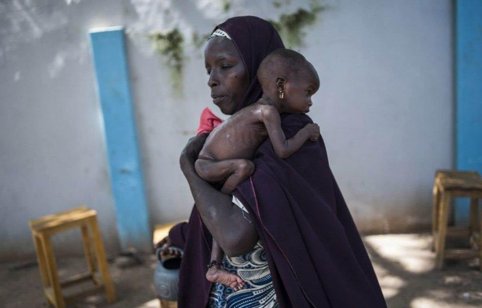 La malnutrition affecte toujours 156 millions d'enfants de moins de cinq ans dans le monde.