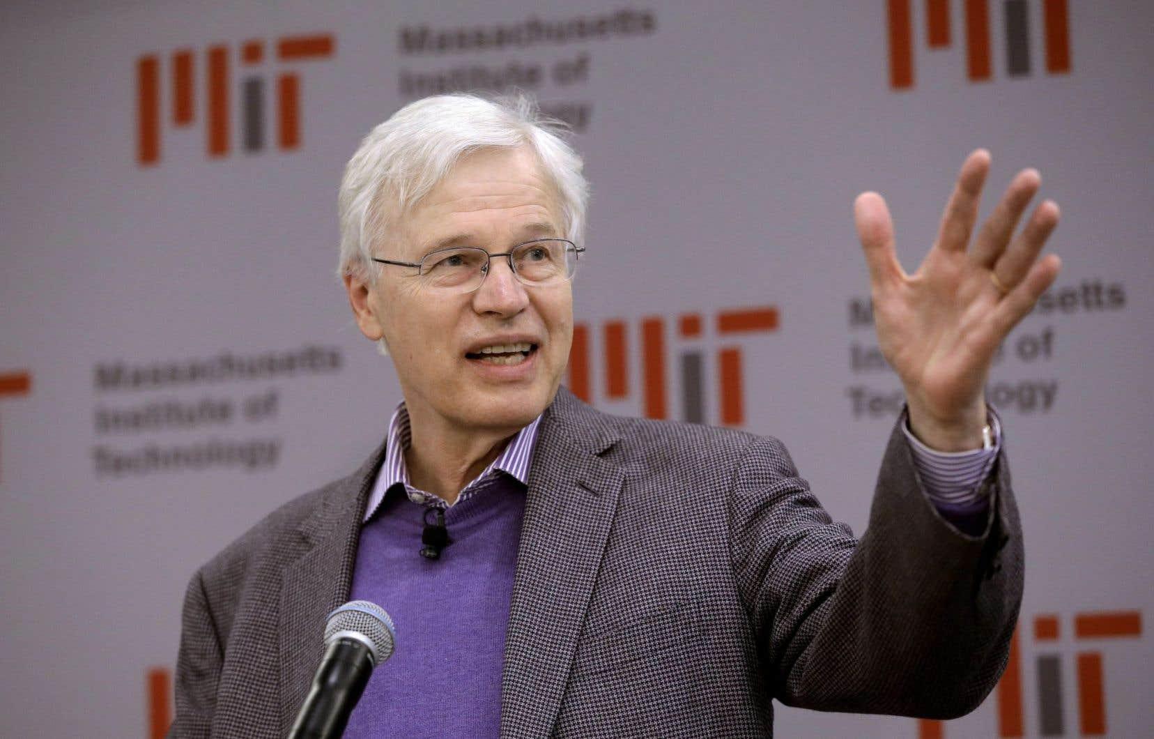 L'un des lauréats du prix Nobel d'économie de cette année, le professeur au MIT Bengt Holmström