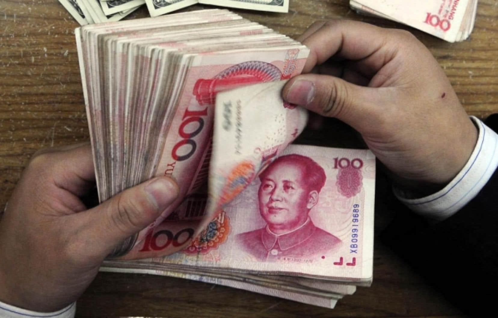 Avec un imposant plan de relance, les statistiques de la Chine prévoient cette année une croissance prévue à 10 %.