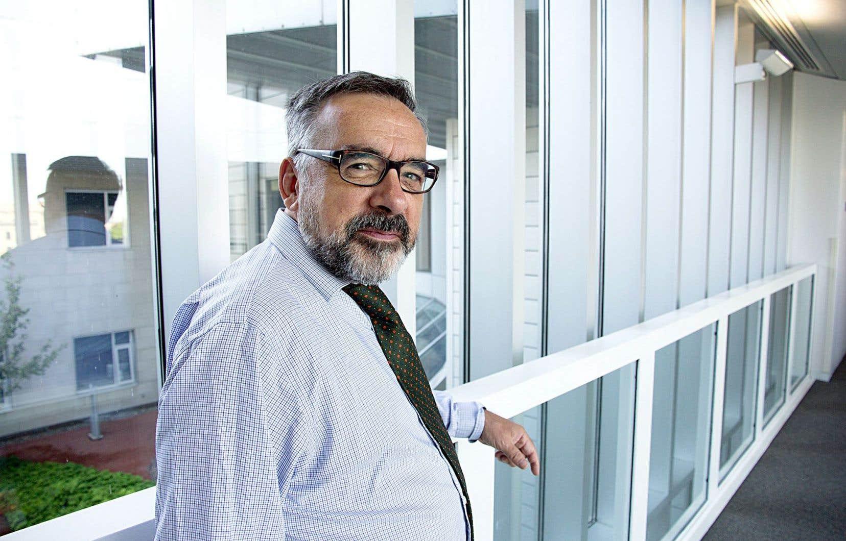 Gilbert Laporte, professeur de HEC Montréal et titulaire de la chaire de recherche du Canada en distributique.