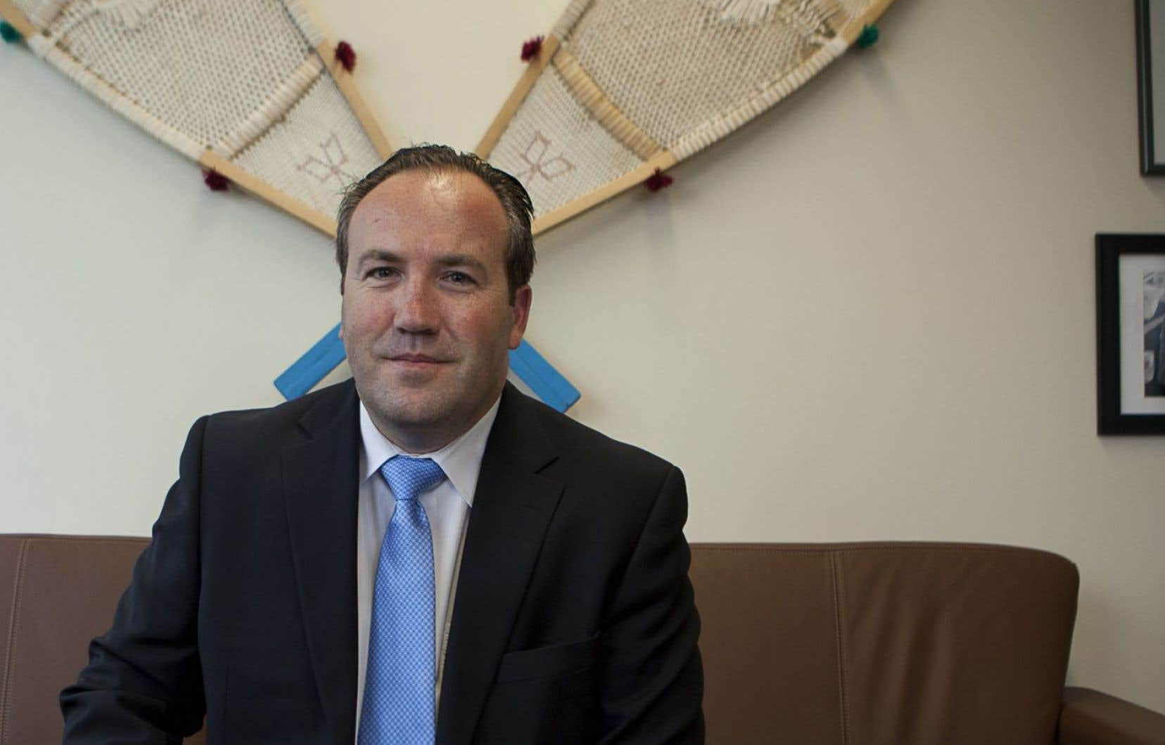 Le directeur et chef de l'exploitation de Stornoway, Patrick Godin