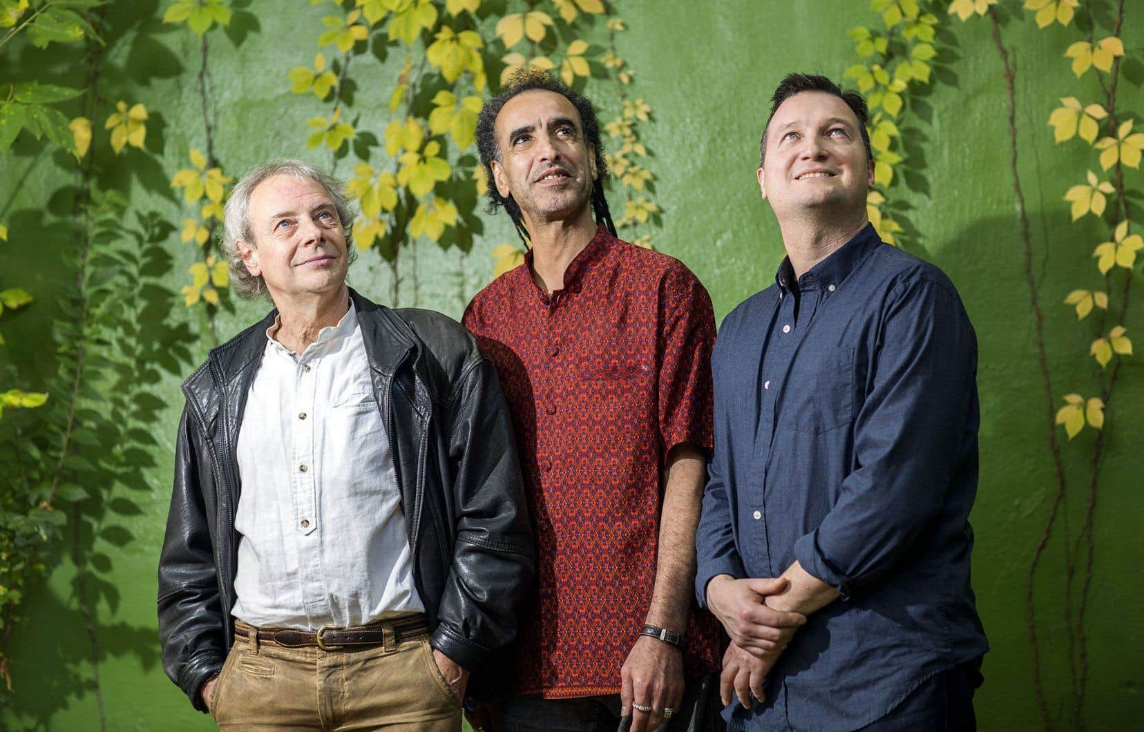 Guy Pelletier, Saïd Mesnaoui et Bertil Schulrabe