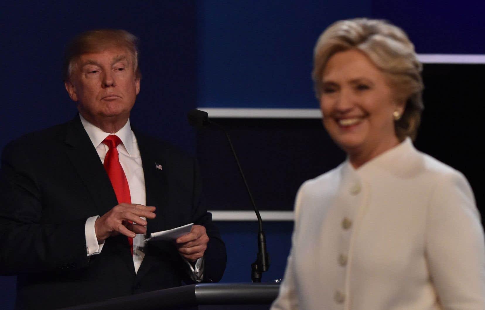 Donald Trump et Hillary Clinton croisaient le fer pour une dernière fois mercredi, à Las Vegas, avant le vote du 8 novembre.