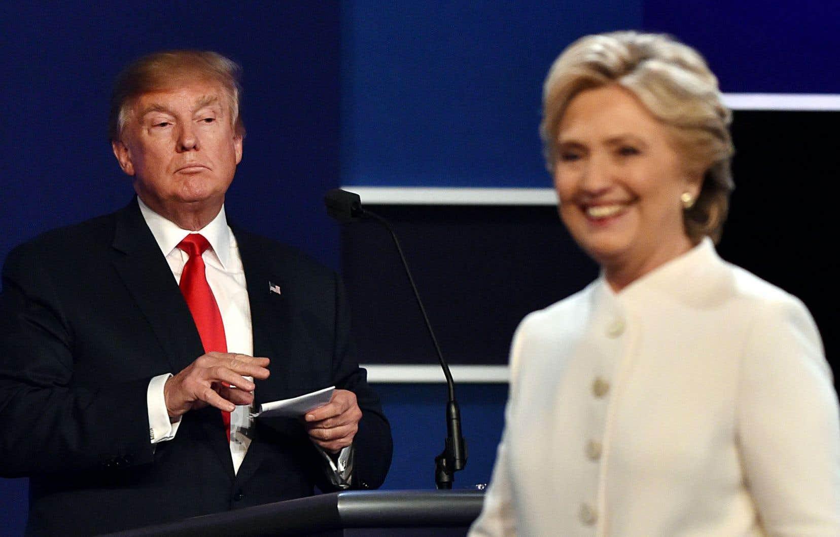 Mercredi soir à l'Université de Las Vegas, au Nevada, les deux candidats à la présidence américaine ont une dernière fois croisé le fer lors d'un ultime débat télévisé.