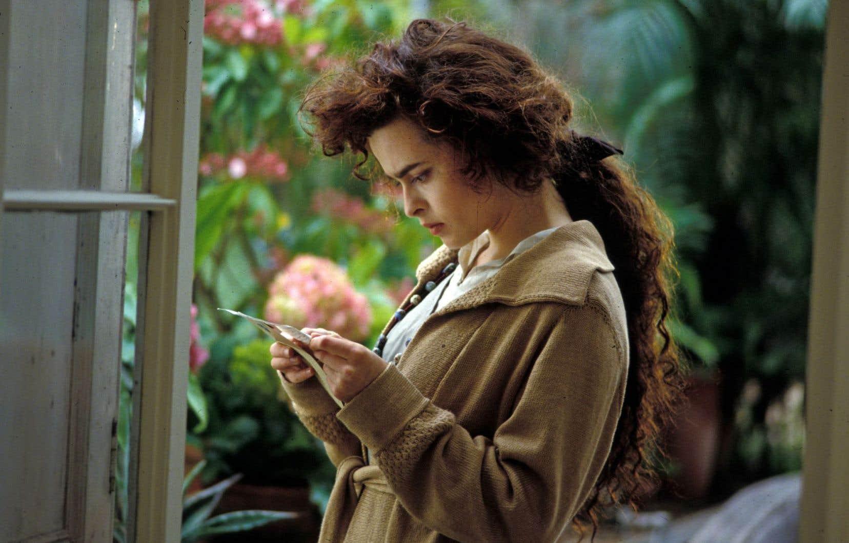 Helena Bonham Carter incarnait Lucy dans «Howards End», en 1992.