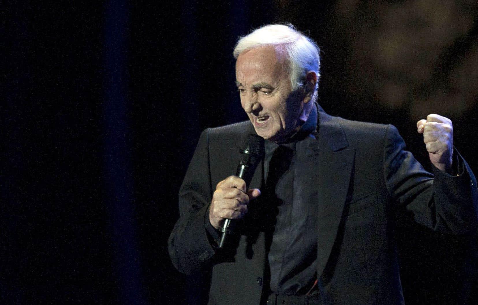 Le vénérable Charles Aznavour