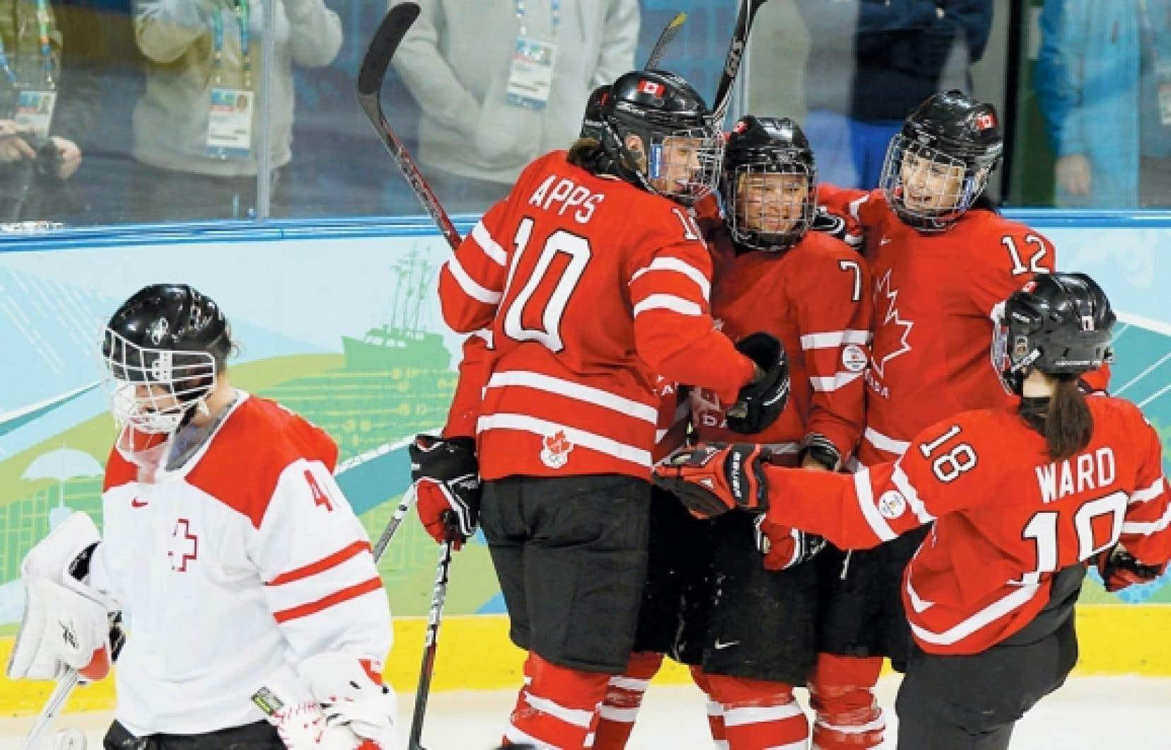 Les Canadiennes ont déjà marqué un total de 28 buts en deux parties depuis le début du tournoi olympique.