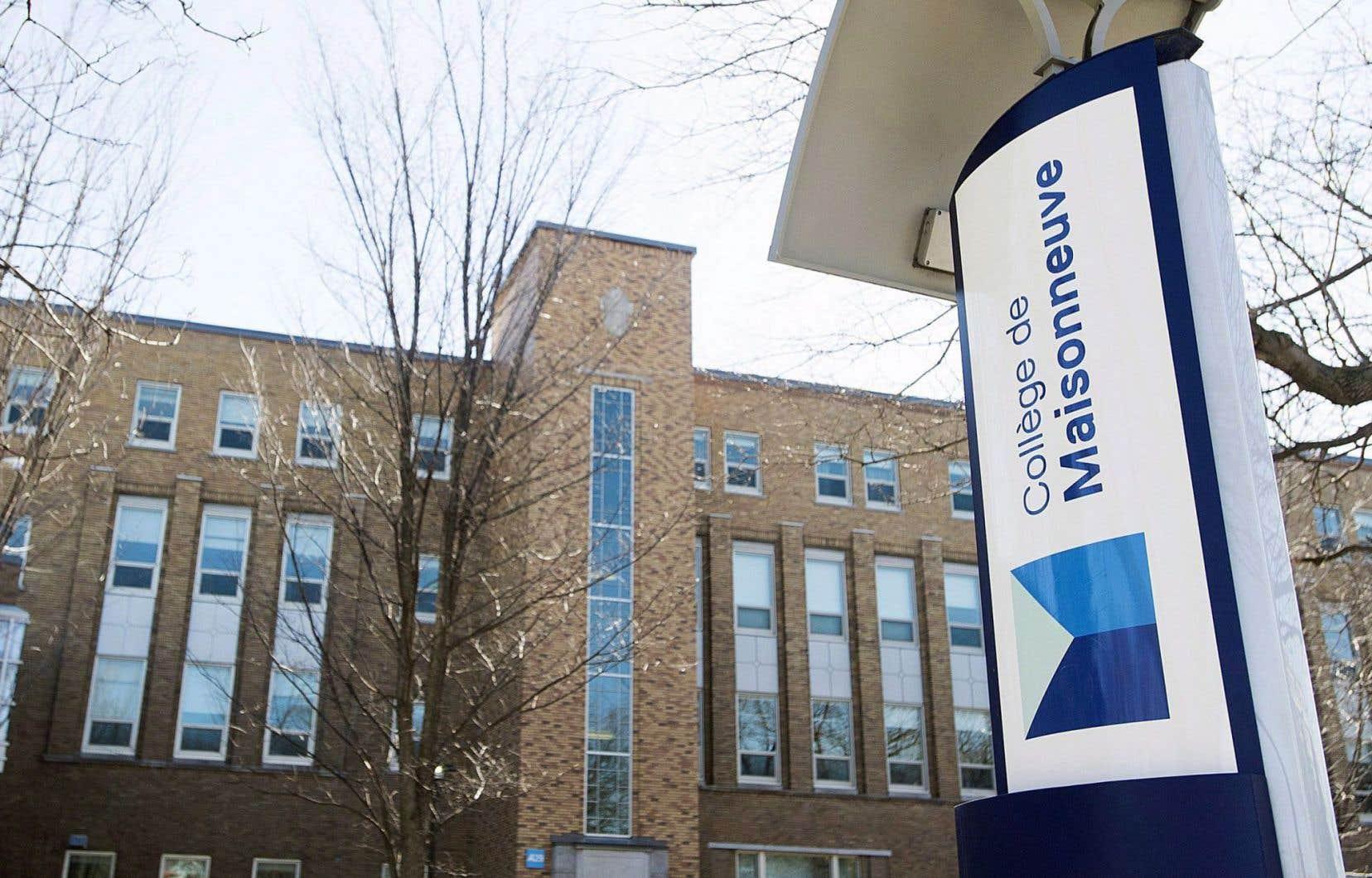 Les étudiants de huit cégeps, dont le collège de Maisonneuve, à Montréal, ont participé à la recherche.