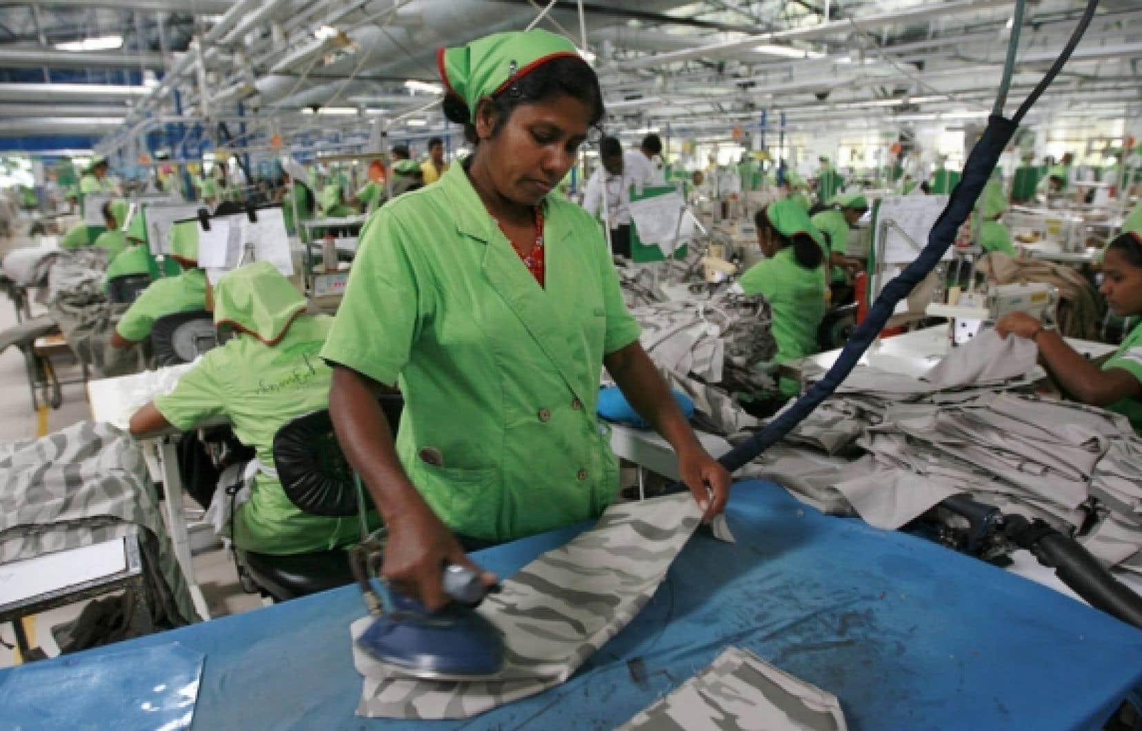 Les pertes seront énormes pour le Sri Lanka, particulièrement dans le secteur du textile.