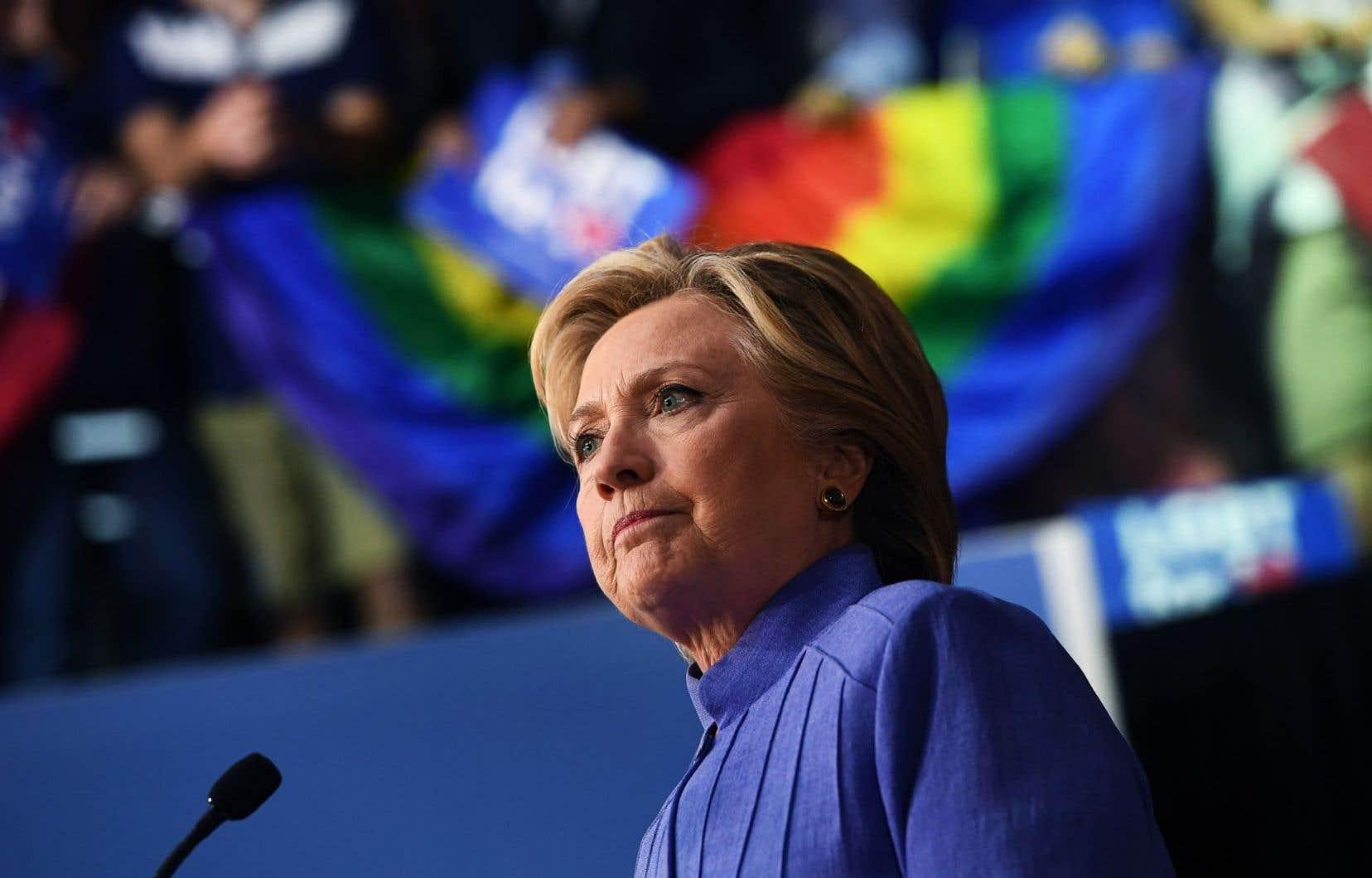 L'avance d'Hillary Clinton s'est aussi légèrement tassée au niveau national.