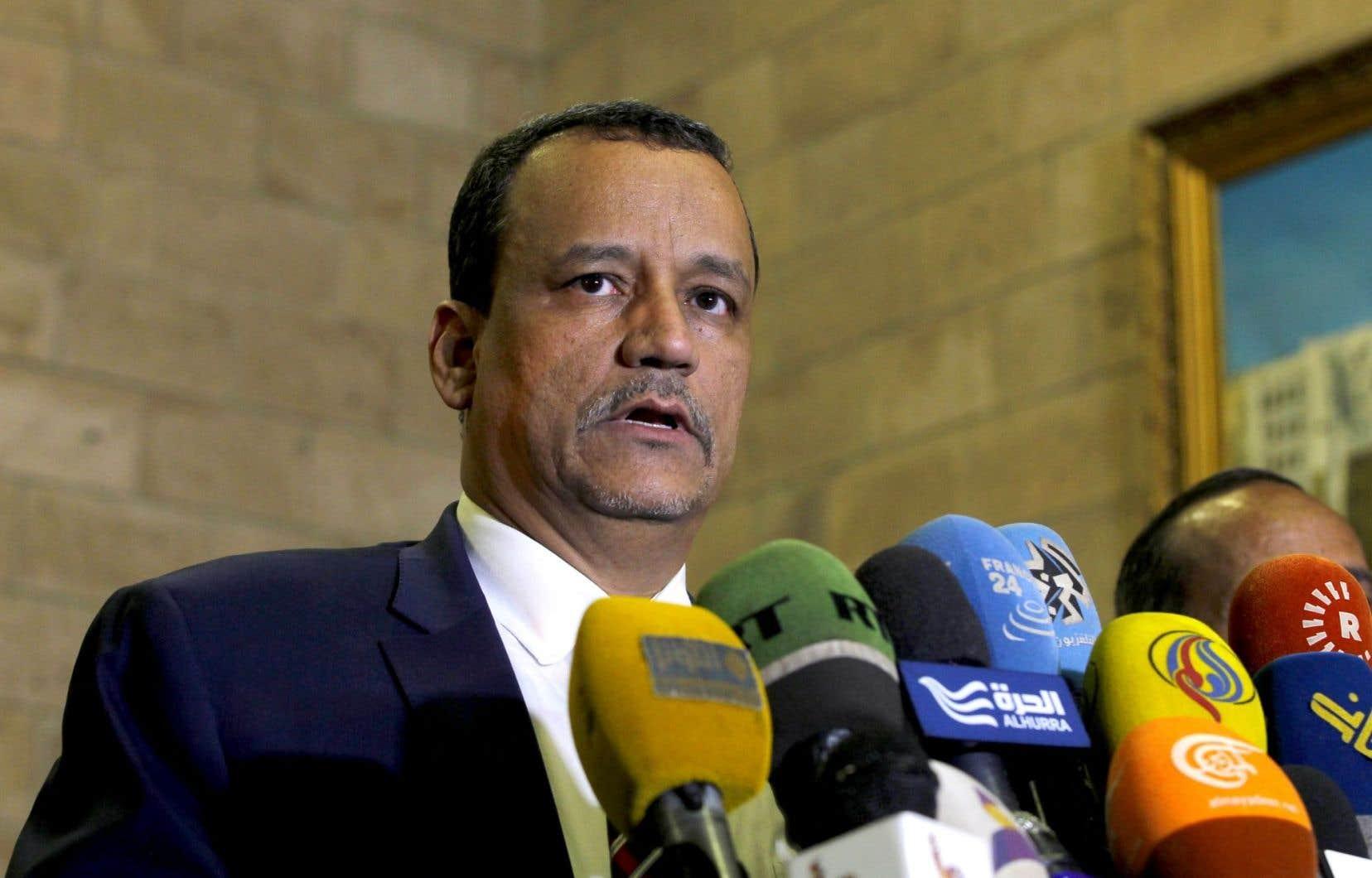 L'envoyé spécial de l'ONU pour le Yémen, Ismail Ould Cheikh Ahmed, a annoncé qu'il allait reprendre les négociations.