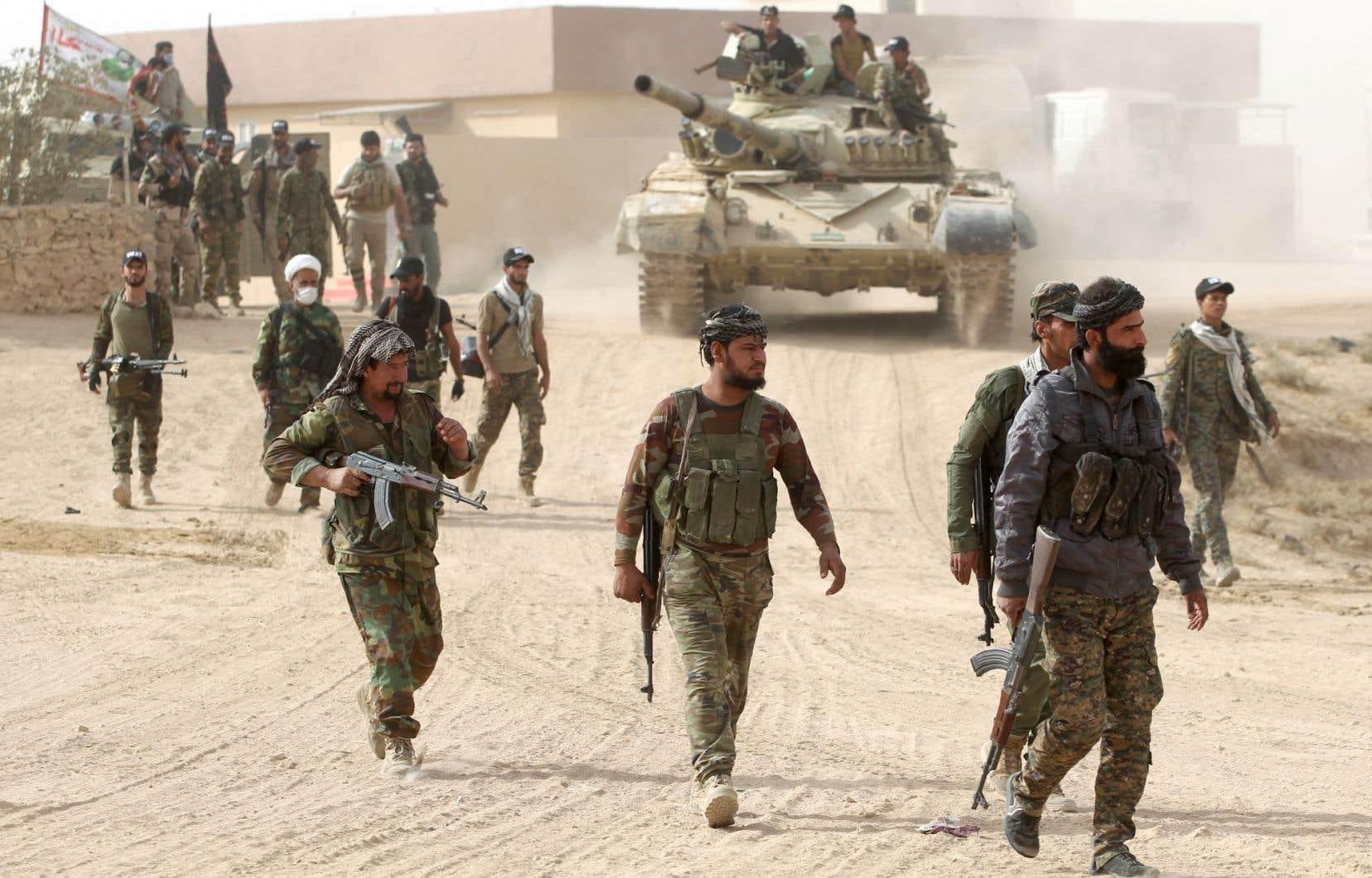C'est par l'est que les forces d'élite ont pénétré dans Mossoul (nord), prenant position dans le quartier périphérique de Judaidat al-Mufti, selon le centre de commandement de l'armée.