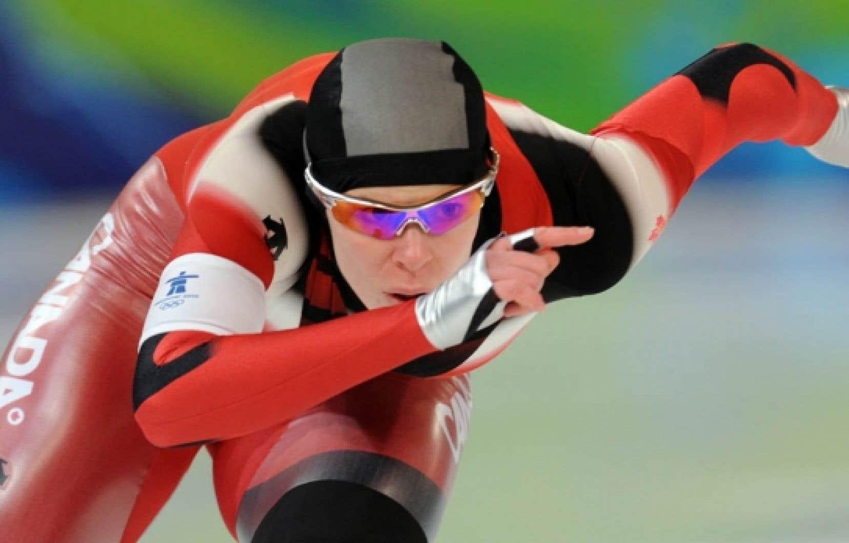 Même si sa course n'était pas à la hauteur de ses attentes, la Canadienne Christine Nesbitt a raflé l'or au 1000 mètres.
