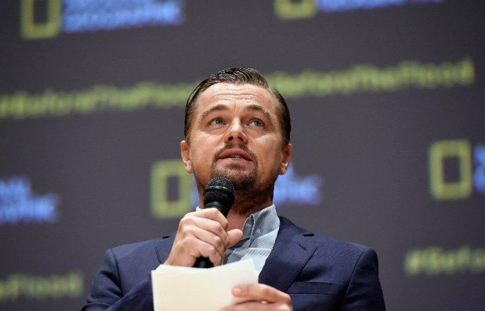 Leonardo DiCaprio l'admet lui-même. Son statut d'Américain, son métier et son style de vie riment avec une imposante «empreinte écologique».