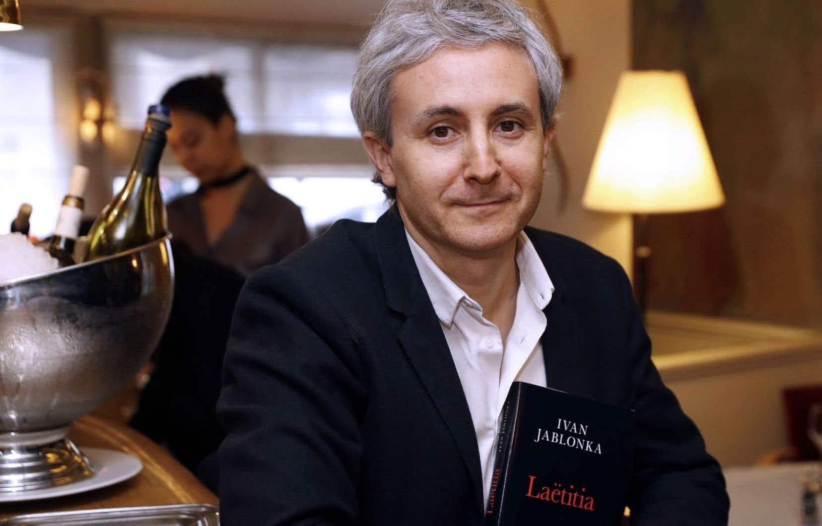 Professeur d'histoire contemporaine à l'Université Paris XIII, Ivan Jablonka, auteur de Laëtitia ou la fin des hommes, a remporté le prestigieux prix Médicis, mercredi à Paris.