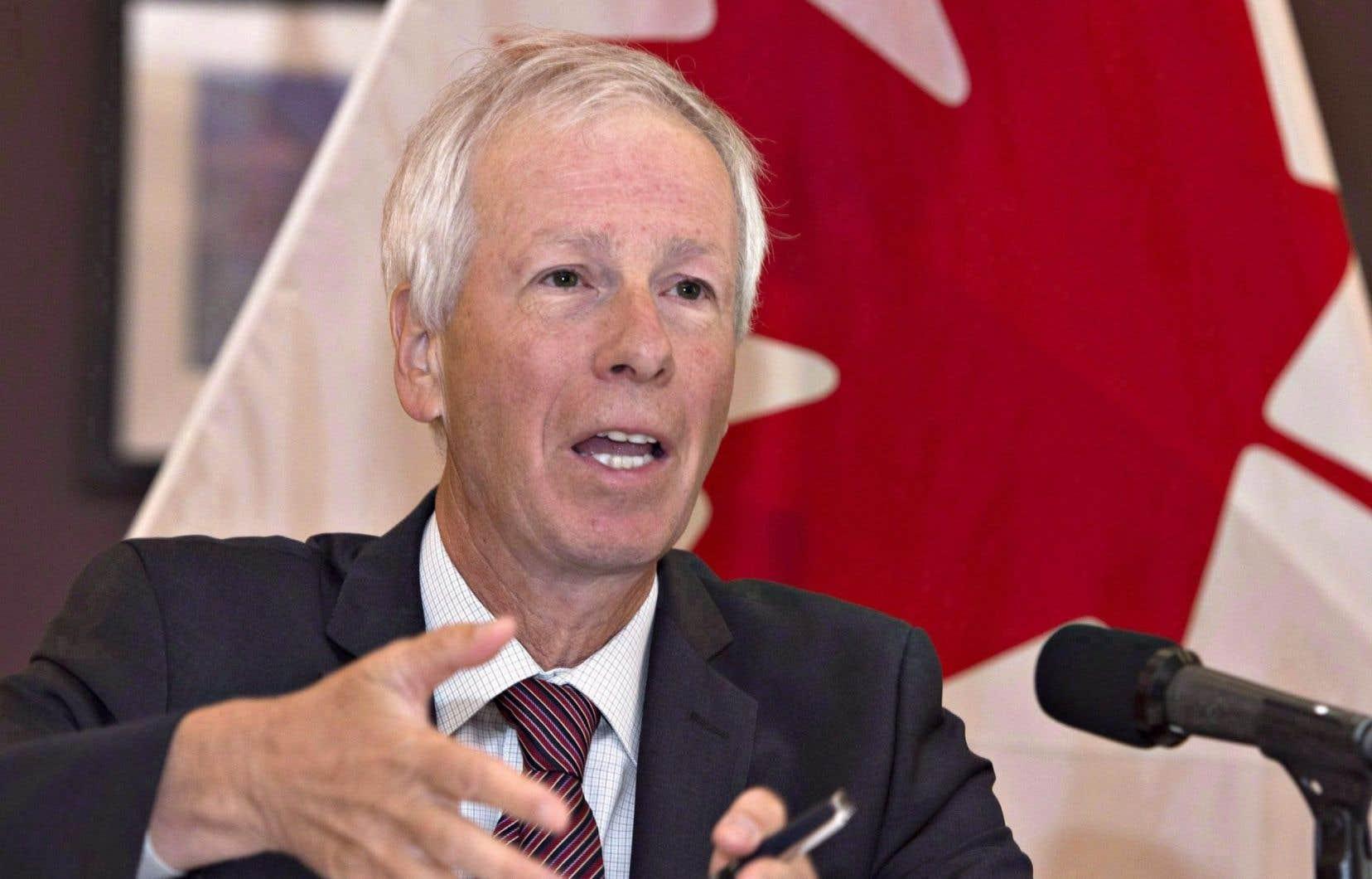 Le ministre canadien des Affaires étrangères, Stéphane Dion