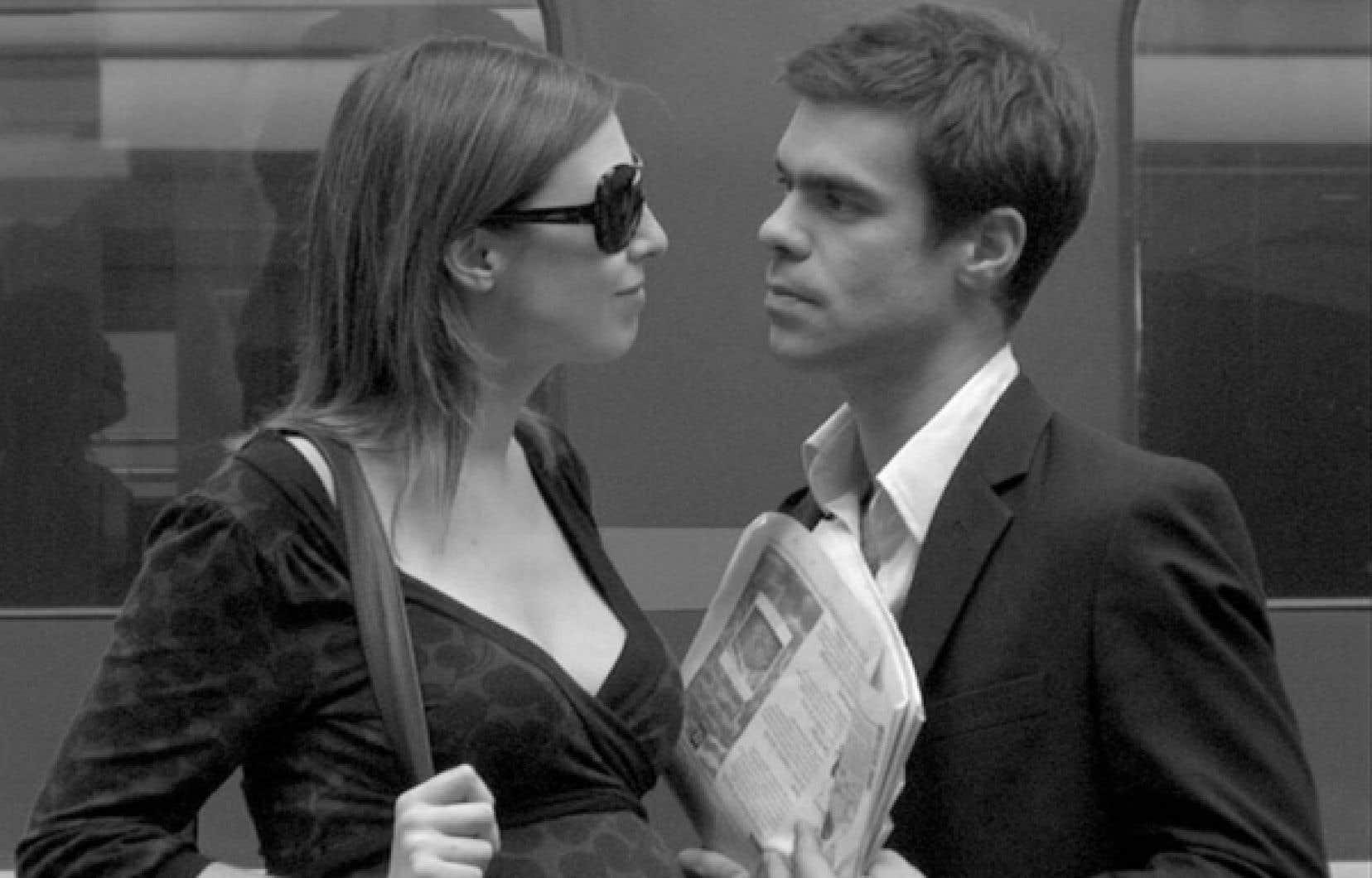 Natacha Koutchoumov et Robin Harsch dans Un autre homme, de Lionel Baier